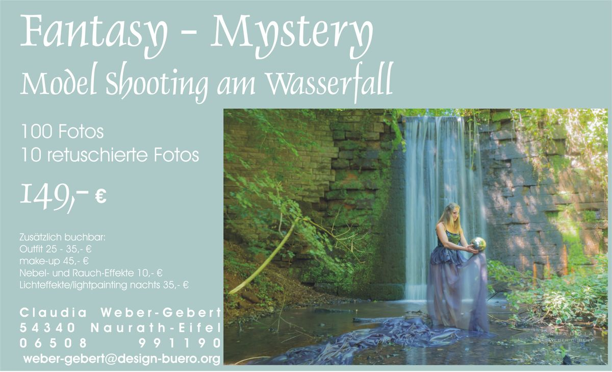 shootingWasserfall